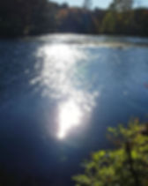 Deep breaths and flashing water.__A mome