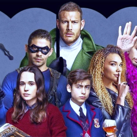 THE UMBRELLA ACADEMY  Serie/T 1 y 2