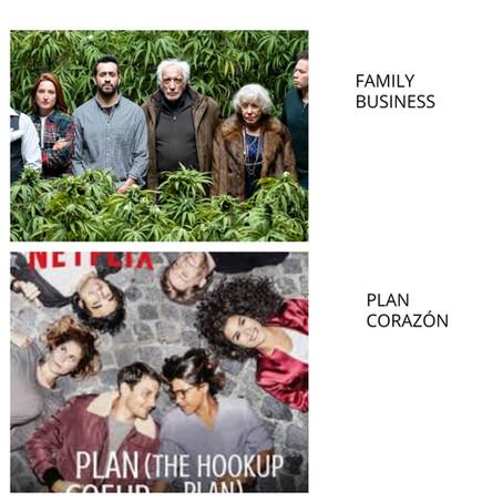 PLAN CORAZÓN y FAMILY BUSINESS #Netflix