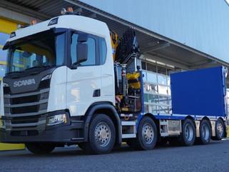 Produktion 6 – Scania Baustellentaxi
