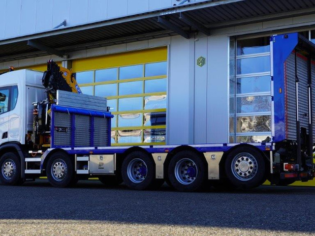 Produktion 7 – Scania Baustellentaxi