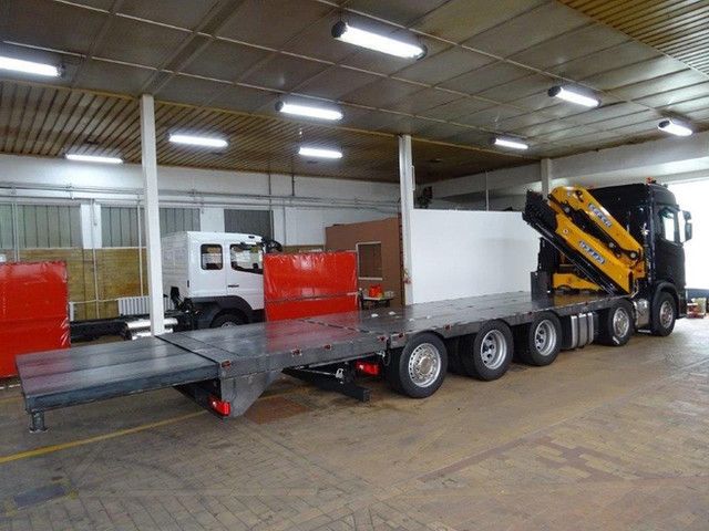 Produktion 4 – Scania Baustellentaxi
