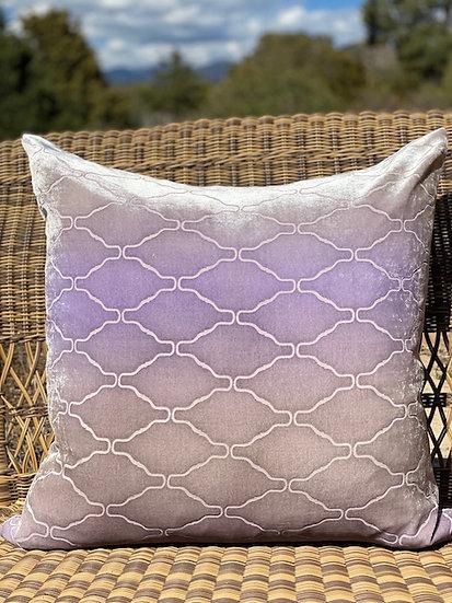 Arches ombre purple euro pillows