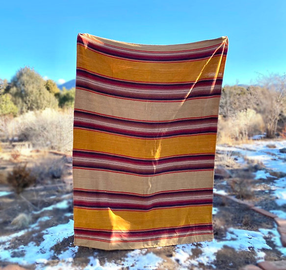 "Sergio Martinez ""Serape Oore"" cotton throw"
