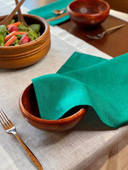 Libeco Polylin Verde Napkin Set (6)