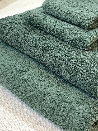 Abyss towels Evergreen 280