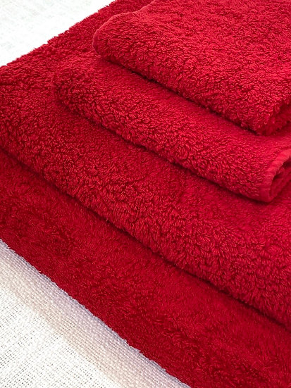 Abyss towels 553 Rouge
