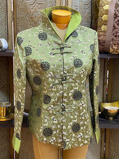 Chinese silk bed jackets (many styles)