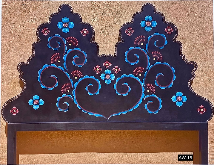 Handmade King headboards made by a local artist (TO ORDER)