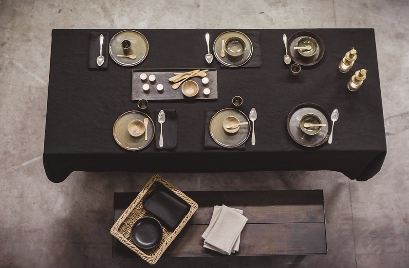 Libeco Polylin tablecloths and napkins