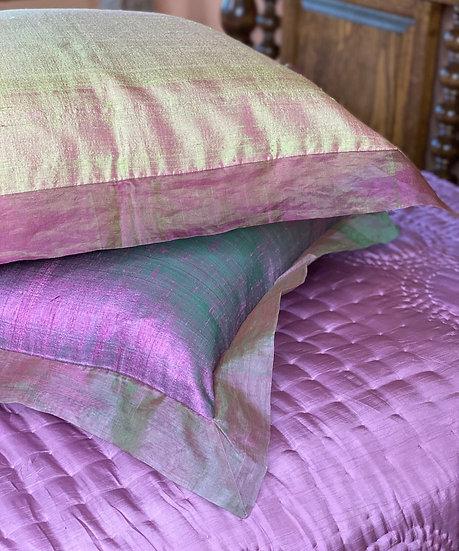 Silk euro pillows (many colors)