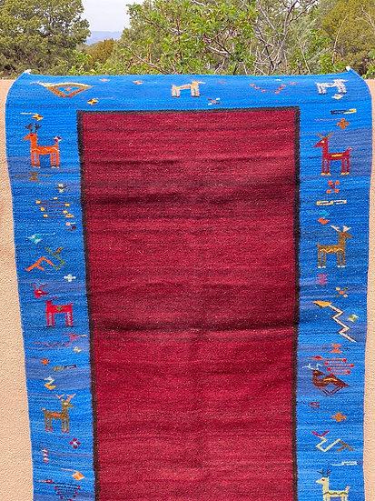 "Sergio Martinez rug ""Border Baben"" (3'x5')"