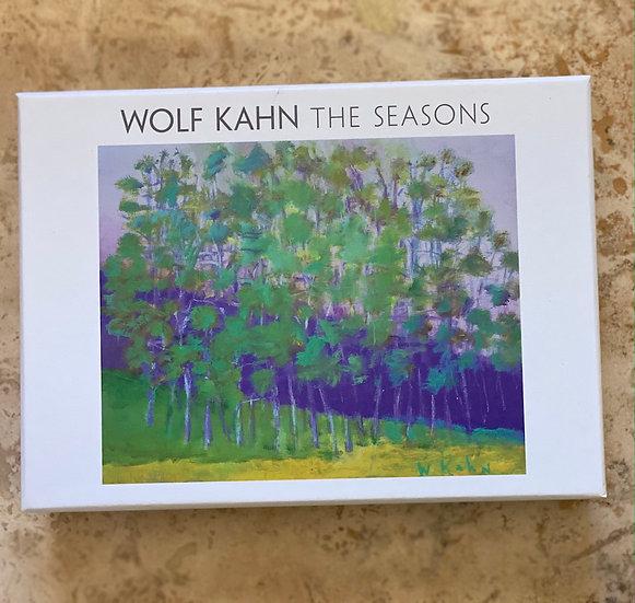 Wolf Kahn The Seasons box card set