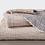 Thumbnail: Coyuchi Topanga organic matelasse blankets/coverlets (2 colors)