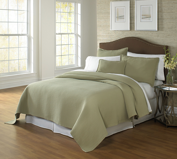 Traditions Linens Tracey Matelasse Coverlets (many colors)