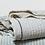 "Thumbnail: Coyuchi ""Topanga Neutral"" organic cotton blanket/coverlet"