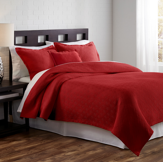 Traditions Linens Flynn coverlets (2 colors)
