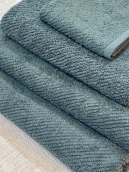 Coyuchi towels Air Weight Deep Dusty