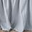 Thumbnail: Bella Notte Mineral Queen linen bed skirt