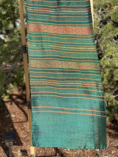 Cambodian silk scarf