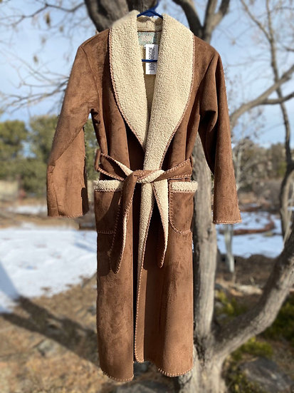 Silverado Child's ultrasuede robes size L