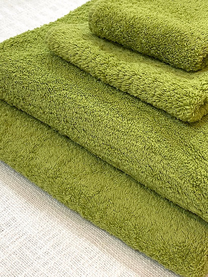 Abyss towels  Apple Green 185