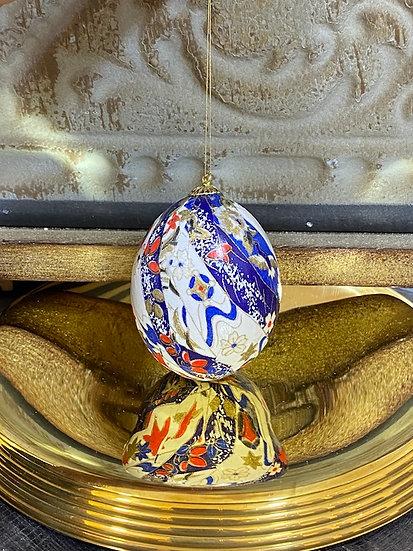 Washi eggs ornaments