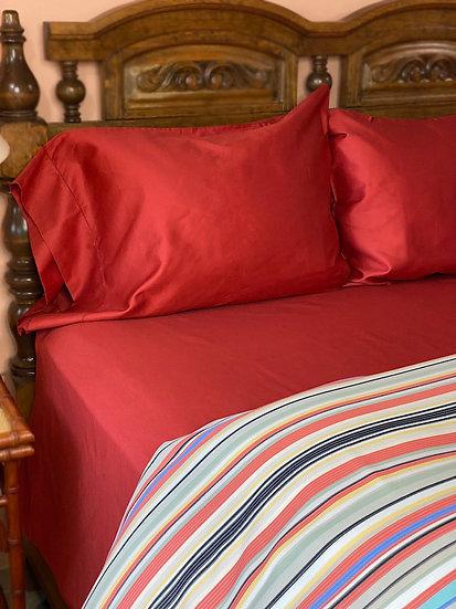 Bellino Raso cotton sateen 300tc sheets (many colors)