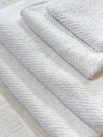 Coyuchi towels Air Weight Alpine White