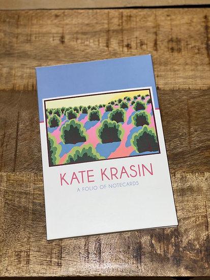 Kate Krasin folio of notecards