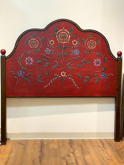Handmade Queen headboard made by a local artist (IN STOCK)