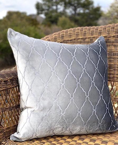 Arches velvet pillows