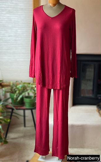 Bamboo long sleeve pajama set