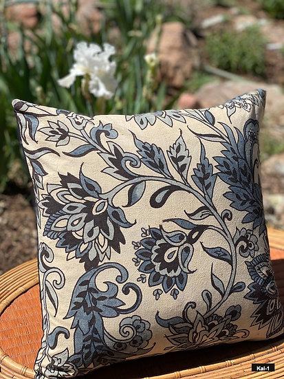 Hand-painted Kalamkari pillows