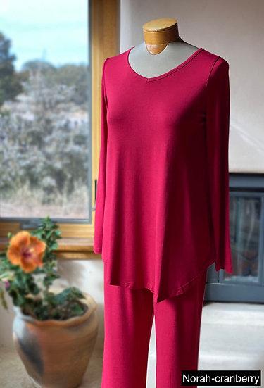 Bamboo Norah long sleeve pajama sets