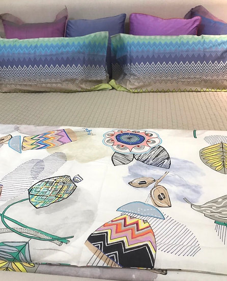 Missoni Queen duvet covers (many colors)