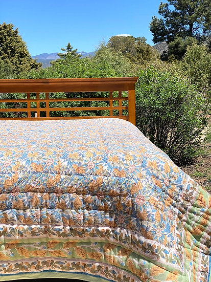 Reversible Indian Block Print Quilts (many styles)