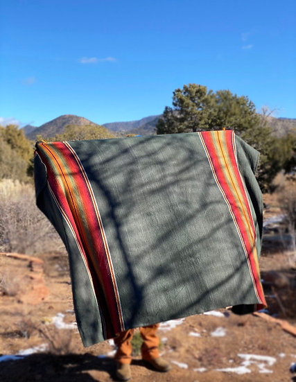 "Sergio Martinez ""Aymara I"" cotton throw"