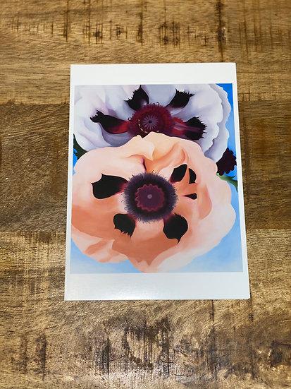 Georgia O'Keeffe flowers box card set