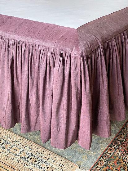 King silk bed skirt
