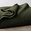 Thumbnail: Coyuchi Cascade Moss organic cotton blankets/coverlets