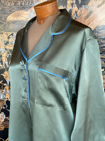 Luxurious charmeuse silk nightshirts (many colors)