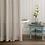 "Thumbnail: Linen shower curtains ""Ivory"""