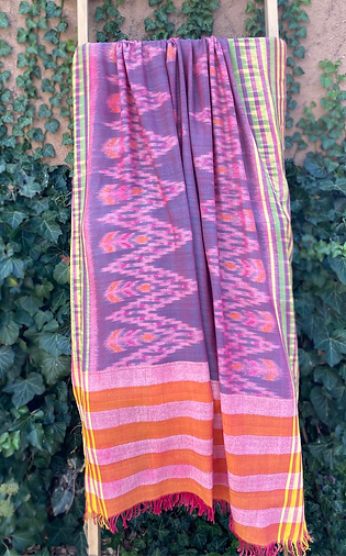 Cotton shawl from Bali