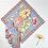 Thumbnail: April Cornell Dahlia Periwinkle Napkin Set (4)