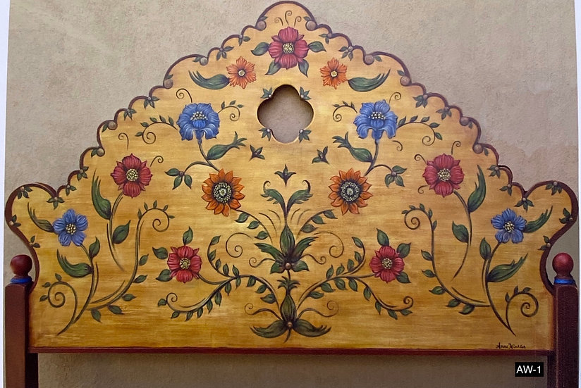 Handmade Queen headboards by a local artist (TO ORDER)