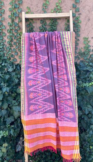 Cotton shawl from Bali