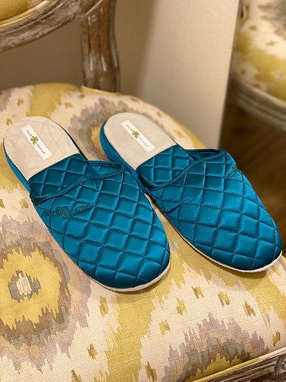 Luxury Kumi Kookoon silk slippers