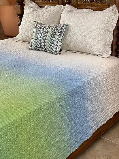 """Missoni """"Lime Sherbet"""" King Coverlet/Blanket"""