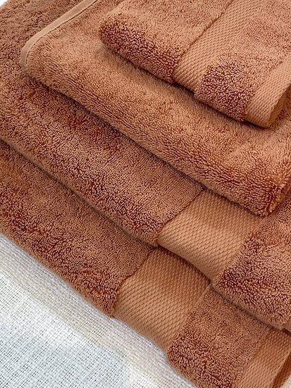 Sferra towels 775 Bello Copper
